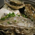 牡蠣の貝焼 ¥680